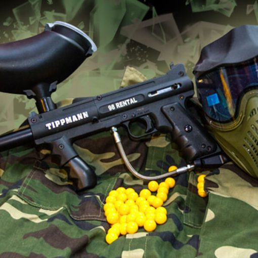 Paintballutrustning